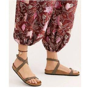 Birkenstock Daloa Ankle Strap Brown Sandal 36